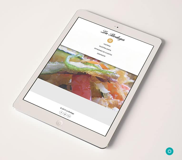 Diseño de webs de restaurantes