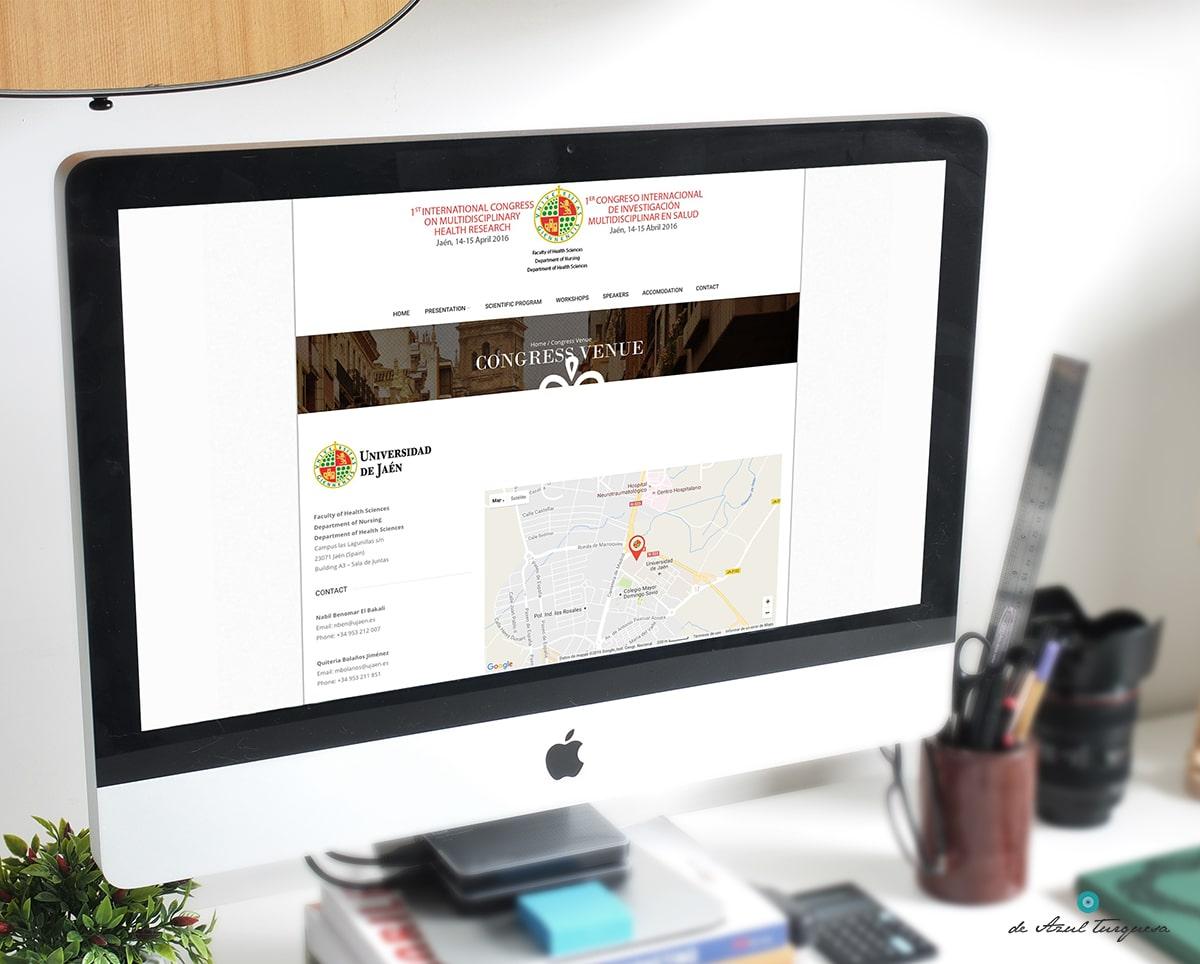 diseño de web universidad jaen