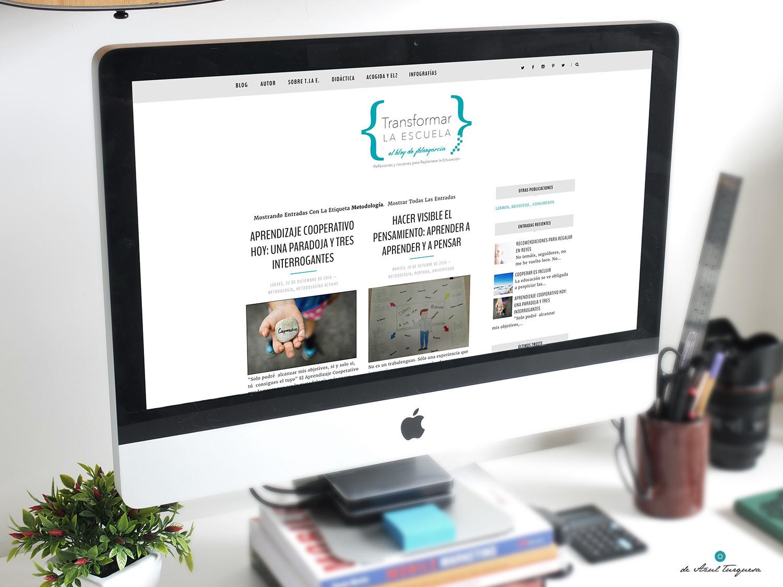 personalización de blogs de azul turquesa