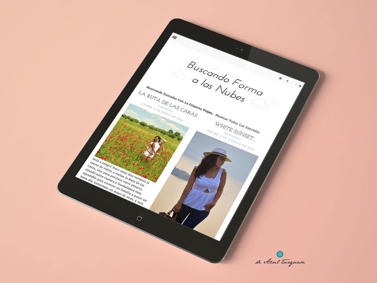 personalización de blog diseño