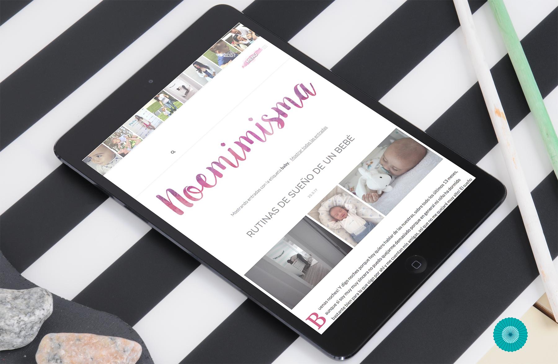 diseño de blog para blogeras