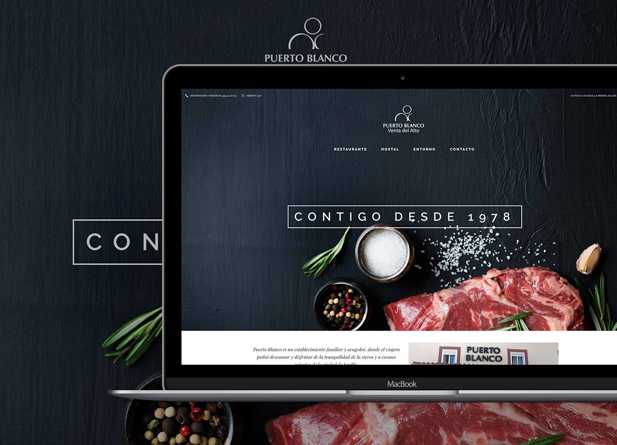 página web de restaurantes sevilla
