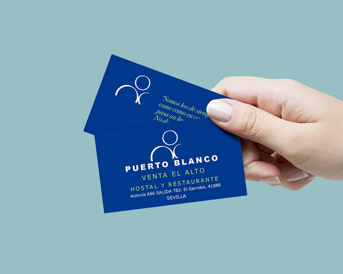 diseño de tarjetas para restaurantes