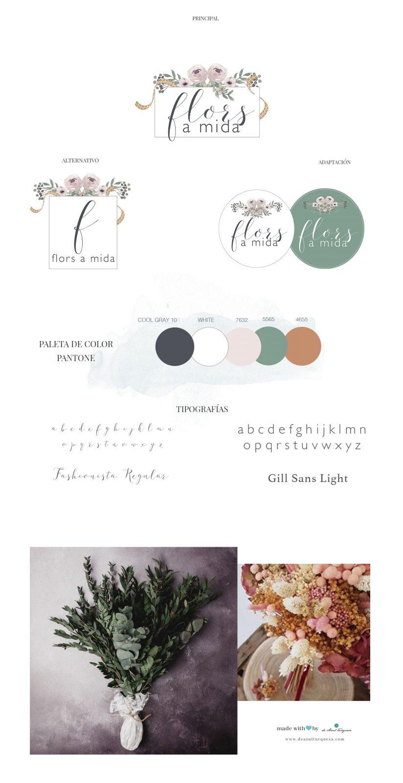diseño de logotipos de floristas
