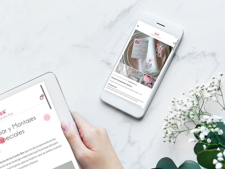 diseño de tiendas online bonitas