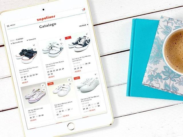 diseño de tiendas online para zapaterias