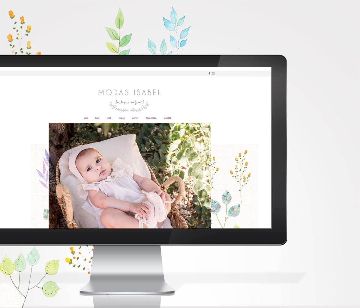 Diseños de web para tienda de ropa