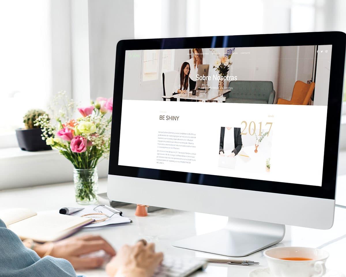 Páginas web para agencias