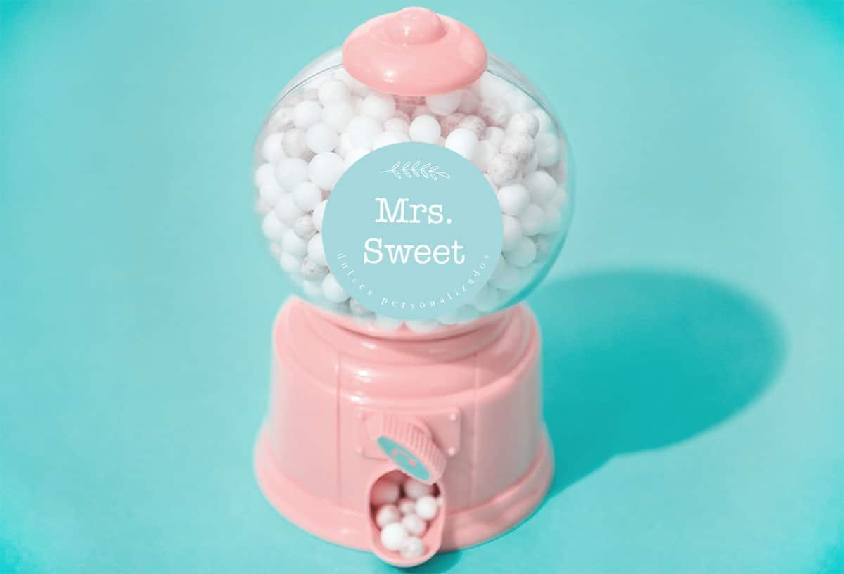 diseños de logotipo para mrs.Sweet