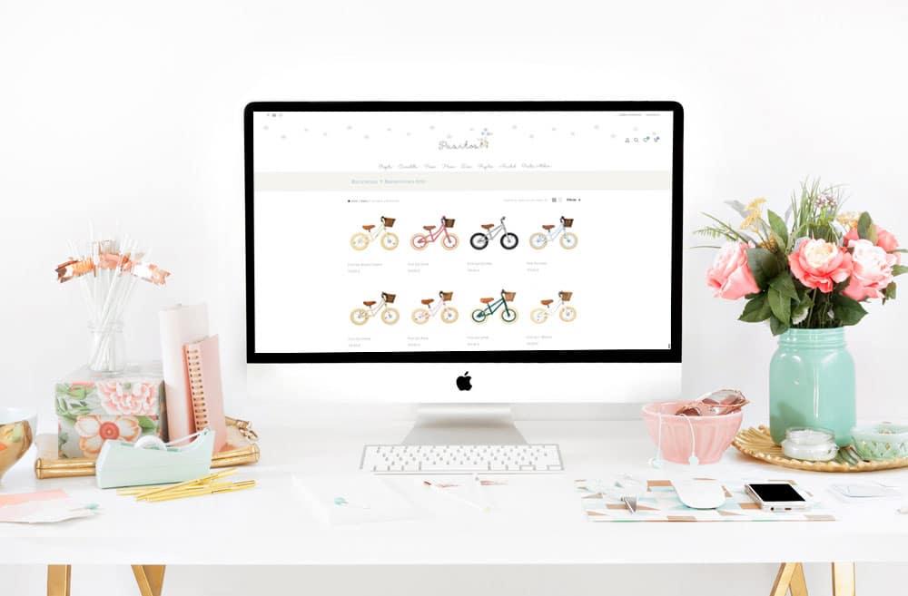 diseño de webs bonitas para tiendas