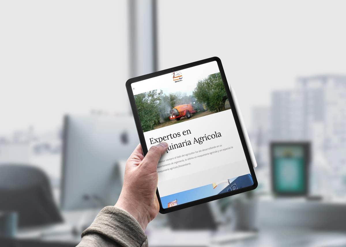 Diseño web Baeza