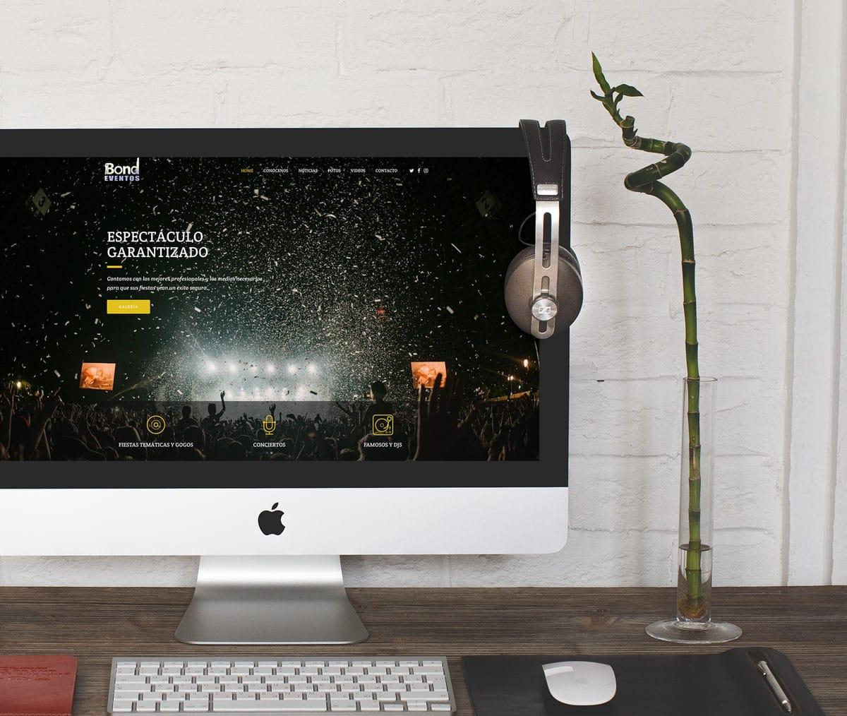 paginas web para Djs