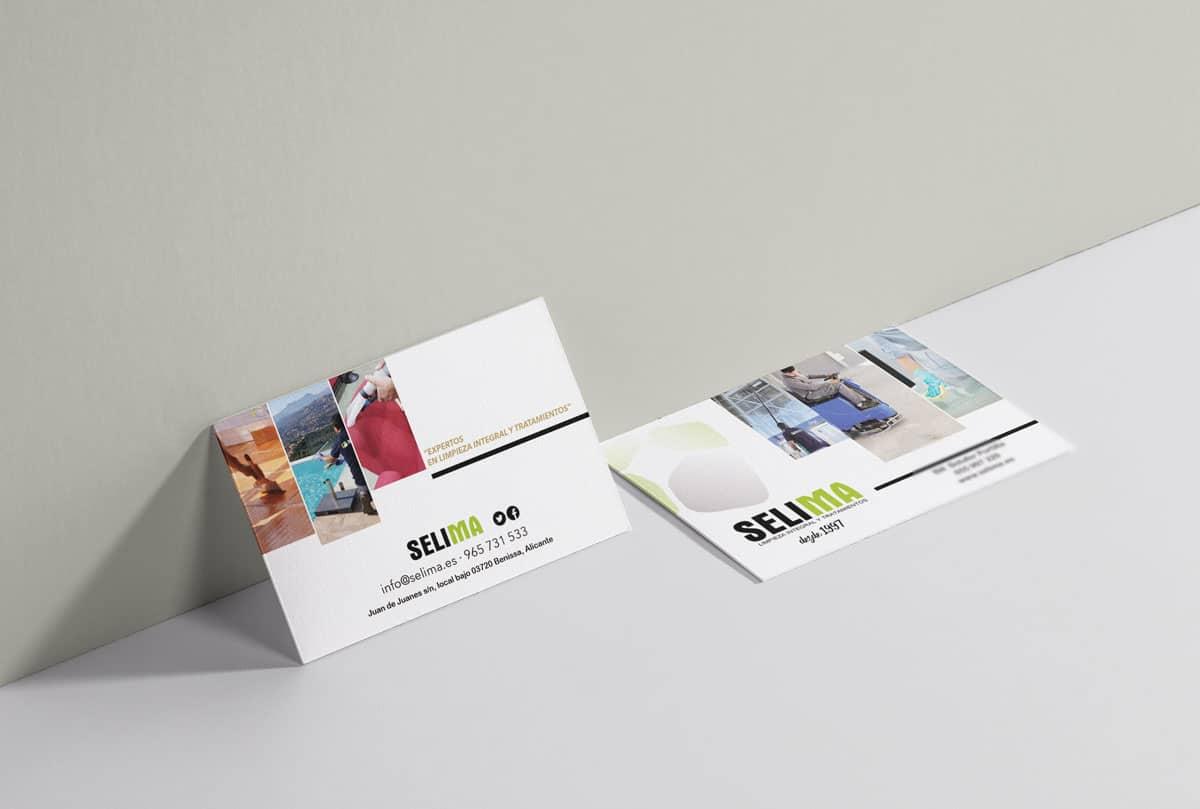 empresa de diseño de tarjetas de visita
