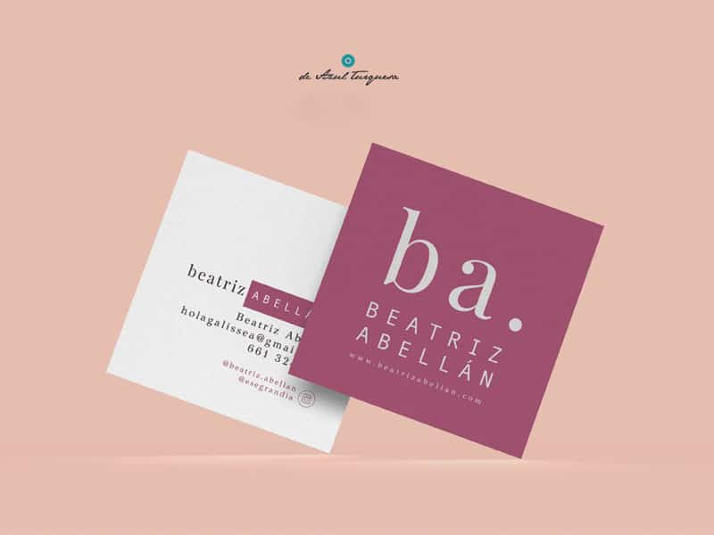 Diseño de tarjetas de visita para tiendas